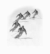 Jay Evans perfect ski technique