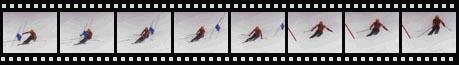 Tommy Moe Olympic Downhill Ski Race